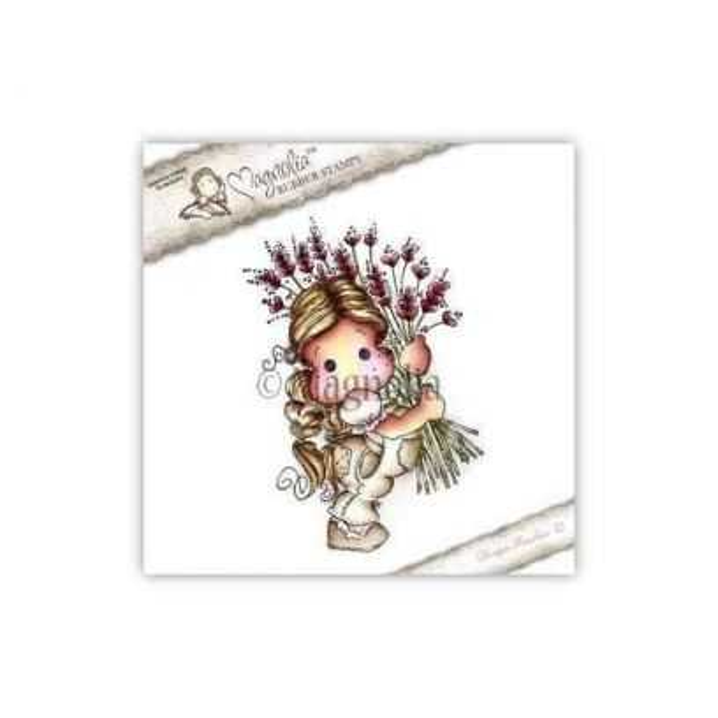 Timbro Magnolia - Tilda with heart Rice - 1