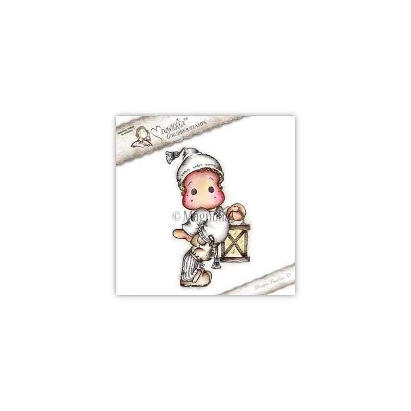 Timbro Magnolia - Edwin with Christmas Lantern - 1