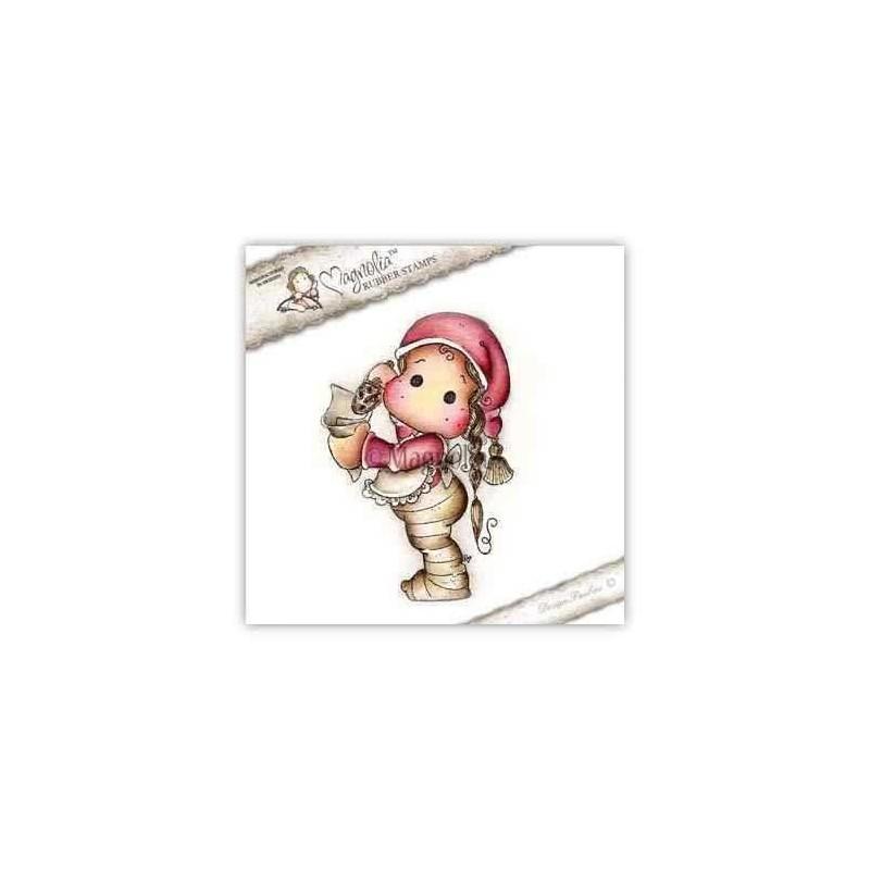 Timbro Magnolia - Christmas Caramel Tilda - 1