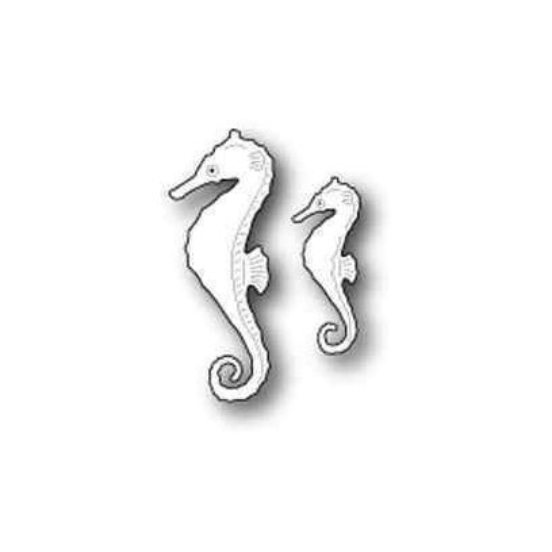Fustella Cavallucci Marini - Swimming Seahorses - 1