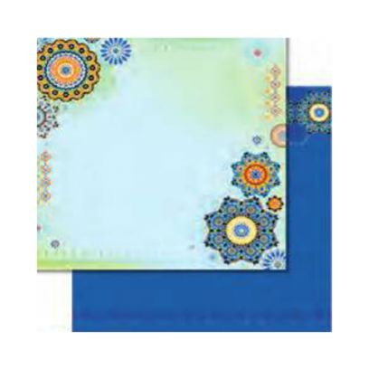 Carta da Scrap Glitterata Arabesco - Arabesque mot269 - 1