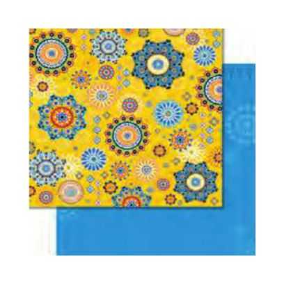 Carta da Scrap Glitterata Arabesco - Arabesque mot272 - 1