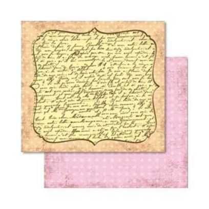 Carta da Scrap Primavera - Frùhling mot18 - 1