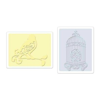 Fustella da Embossing - Bird &...