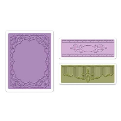 Fustella da Embossing - Oval Lace Set - 1