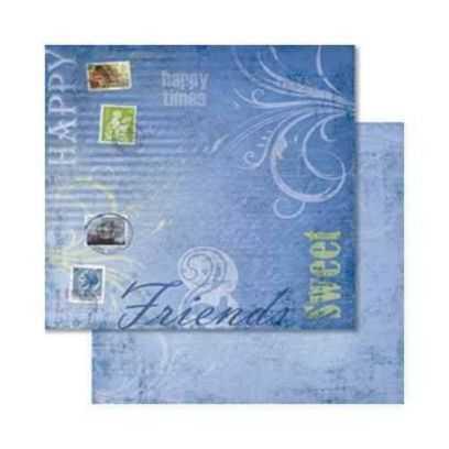 Carta da Scrap Fiori -Farbenrausch mot53 - 1
