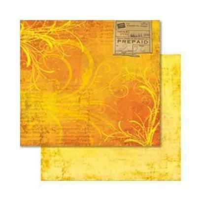 Carta da Scrap Fiori -Farbenrausch mot54 - 1