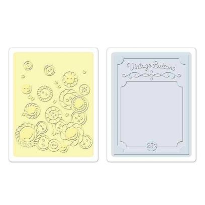 Fustella da Embossing - Vintage Buttons Set - 1