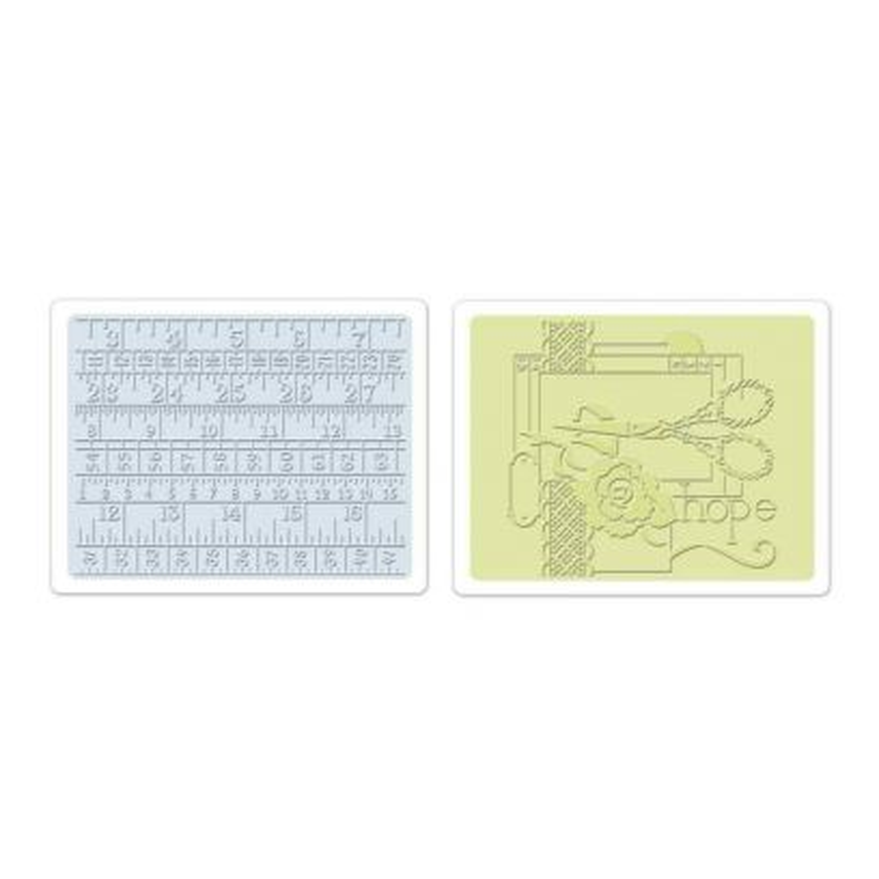 Fustella da Embossing - Sewing & Measuring Tape Set - 1