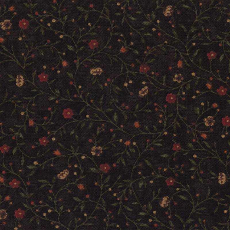 "Tessuto Patchwork - Kansas Troubles Basic ""Chocolate"" 9410 13 - 1"