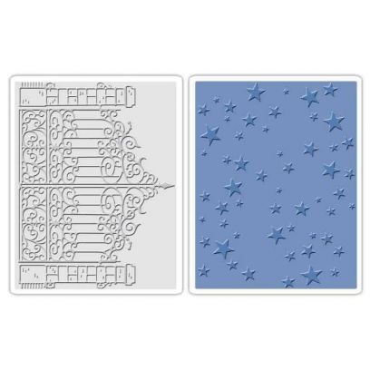 Fustella da Embossing - Iron Gate & Starry Night Set - 1