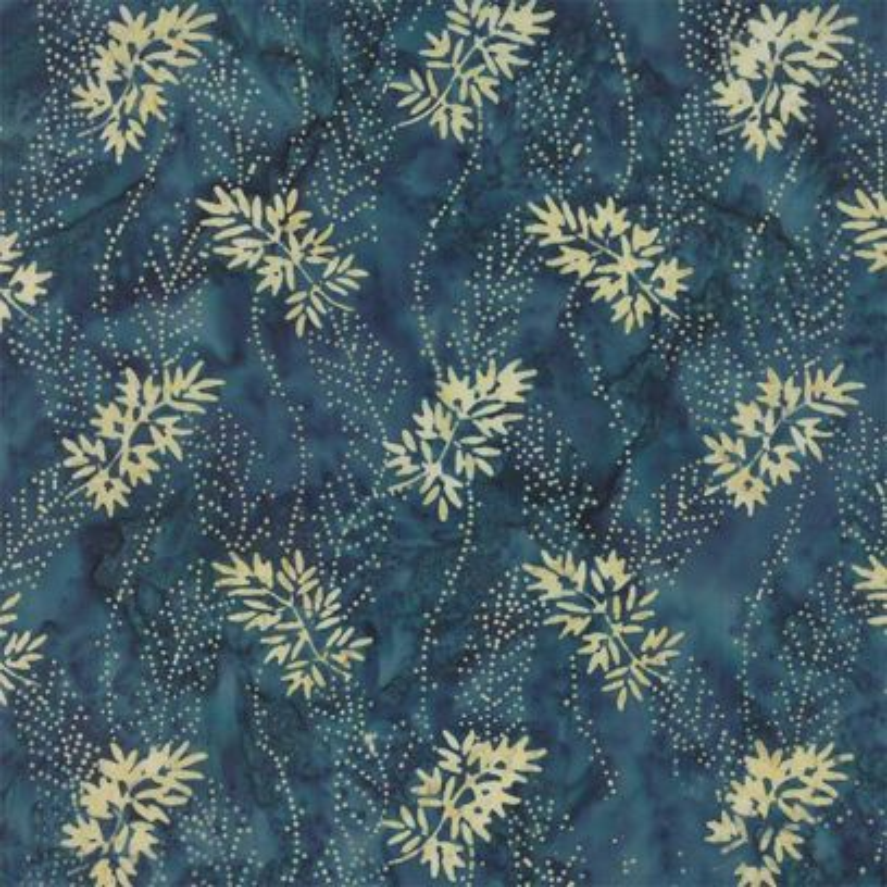 Tessuto Batik - Blue Barn Batiks Midnight 42279 13 - 1