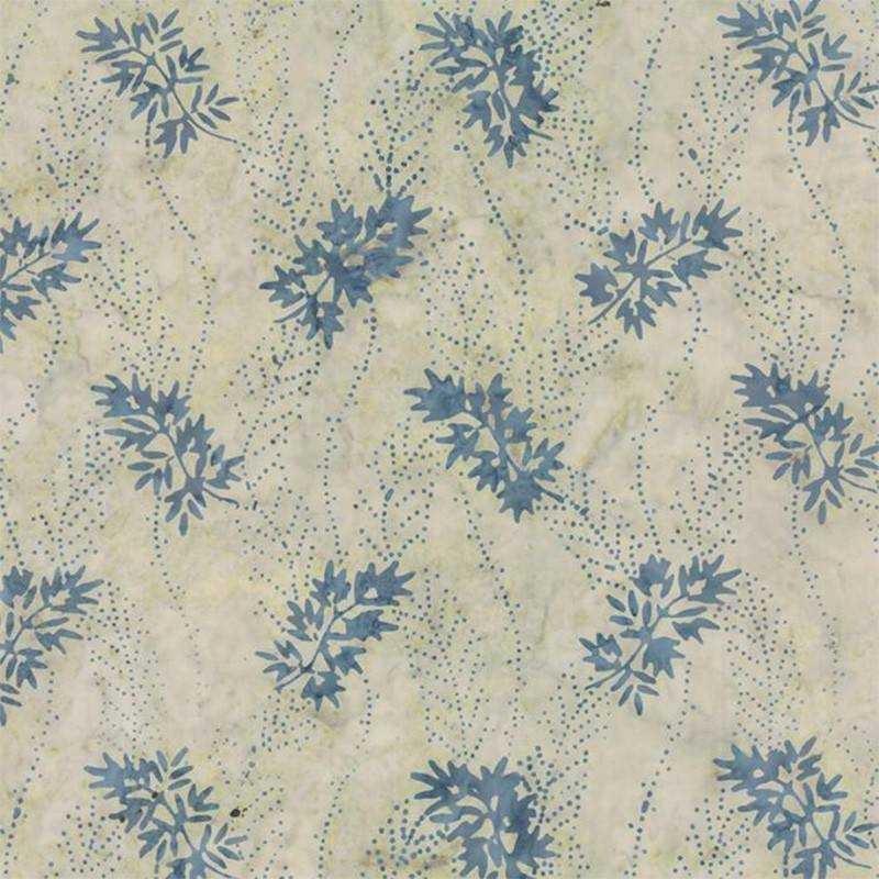 Tessuto Batik - Blue Barn Batiks Icy Snow Angels 42279 14 - 1