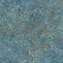 Tessuto Batik - Blue Barn Batiks Twilight Blue - 1