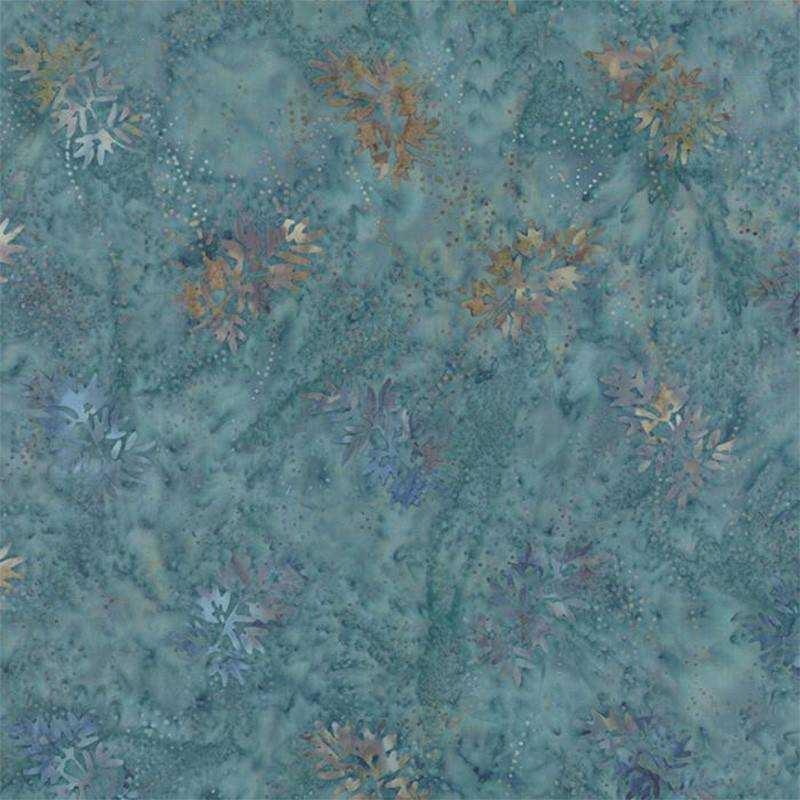 Tessuto Batik - Blue Barn Batiks Twilight Snow Angels 42279 17 - 1
