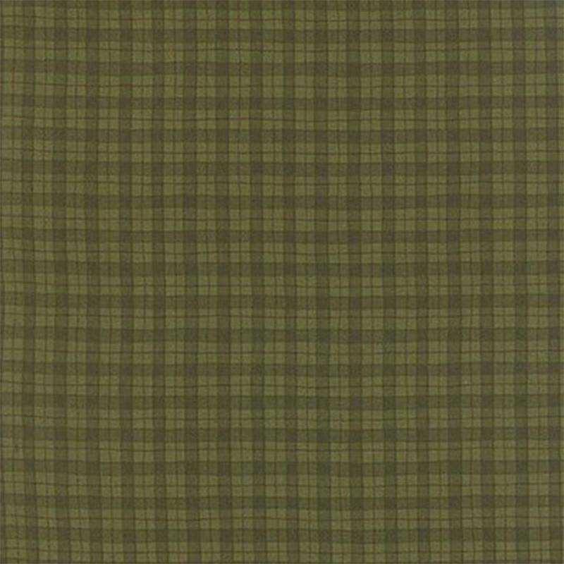 Tessuto Natale - Delightful December Pine Plaid 17877 12 - 1