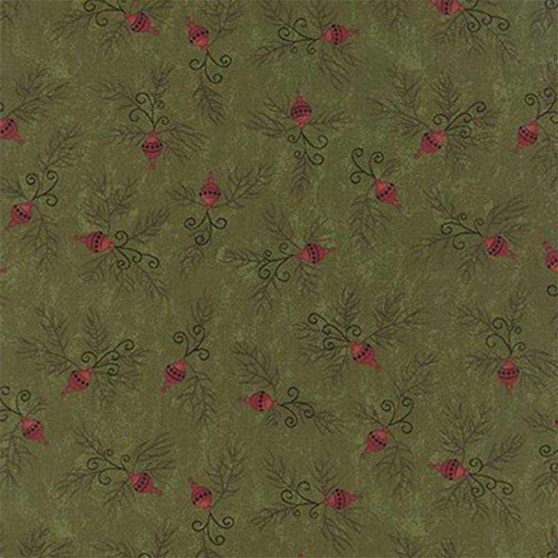 Tessuto Natale - Delightful December Pine Decoration 17879 12 - 1