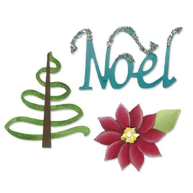 Fustella Natale - Sizzlits Noel Set - 1