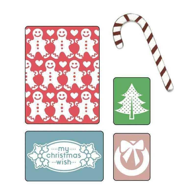 Fustella Auguri  Natale - Embossing...