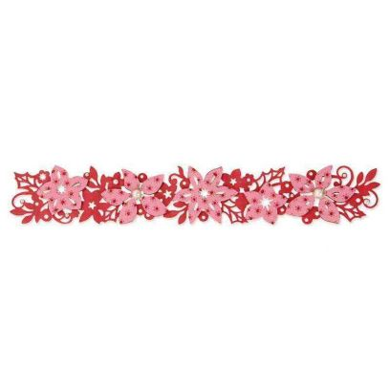 Fustella Fiori di Natale - Sizzlits Winter Florals - 1
