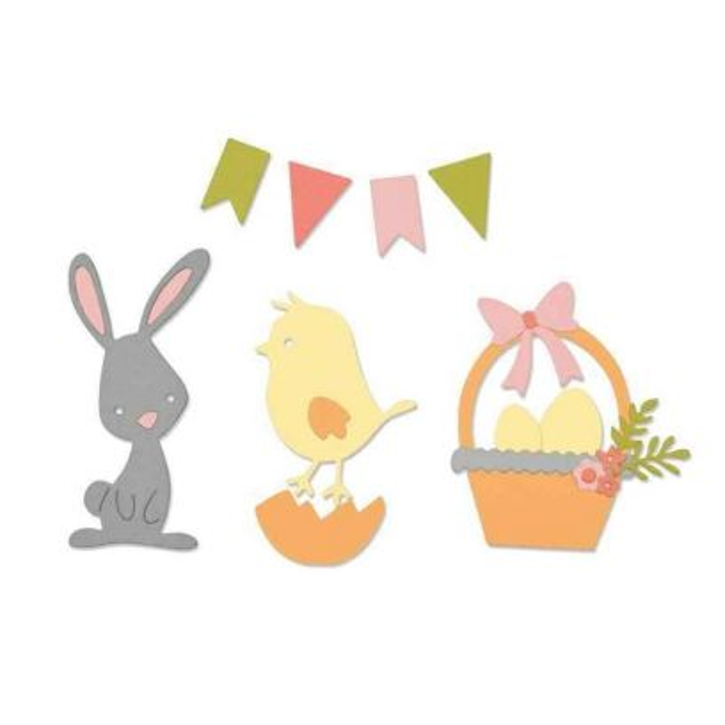 Fustella Pasqua - Thinlits Easter - 1
