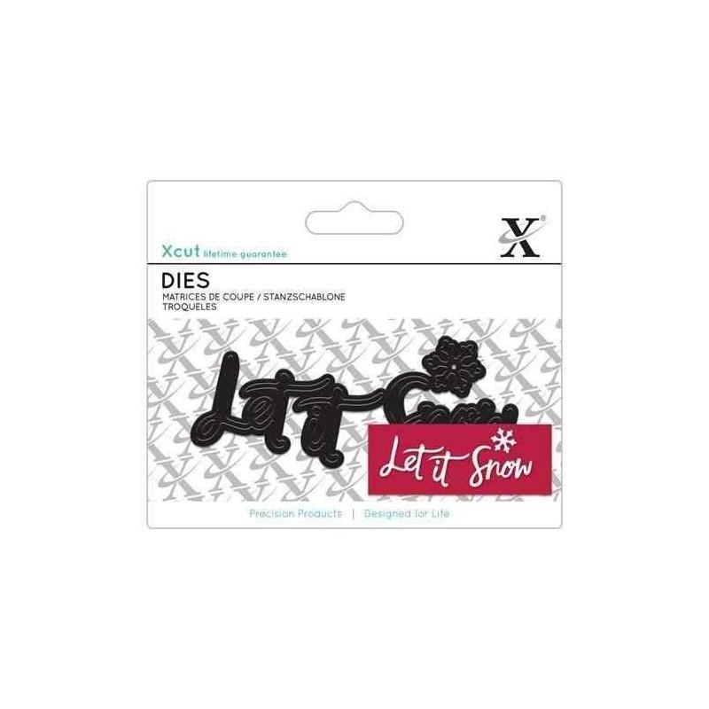 Fustella Xcut - Let It Snow - 1