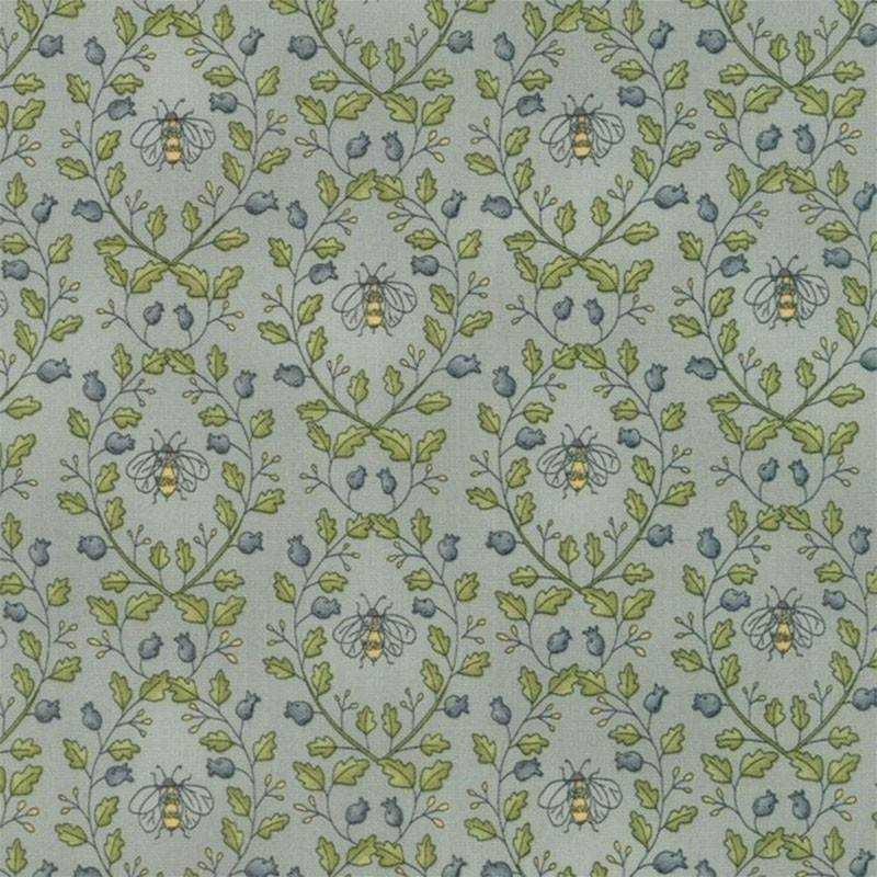 Tessuto Shabby – Garden Note 6093 11 - 1