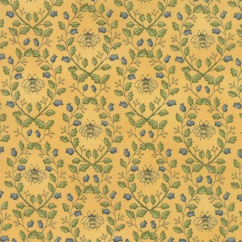 Tessuto Shabby – Garden Note 6093 13 - 1