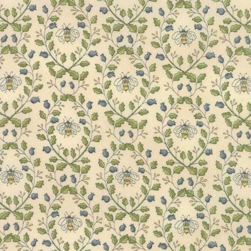 Tessuto Shabby – Garden Note 6093 14 - 1