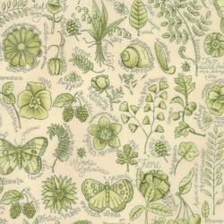 Tessuto Shabby – Garden Note 6090 16 - 1