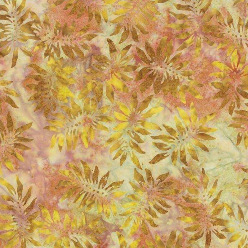 Tessuto Batik - Moda Fabrics - Pumpkin Pie Sunflower Pumpkin 42289 201