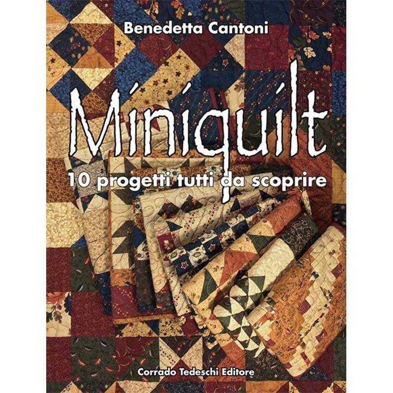 Libro Patchwork - Miniquilt di Benedetta Cantoni - 1