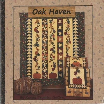 Libro Patchwork - Oak Haven Kansas Troubles Quilters - 1