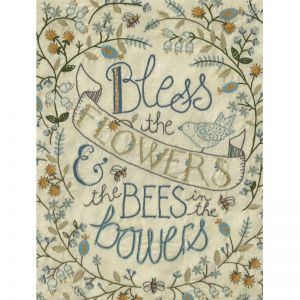 Pattern per Patchwork - Bees in the Bowers di Kathy Schmitz - 2