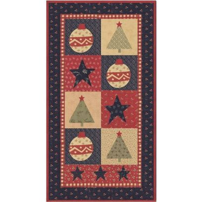 Pattern guida per Patchwork - Star Spangled Christmas - 1