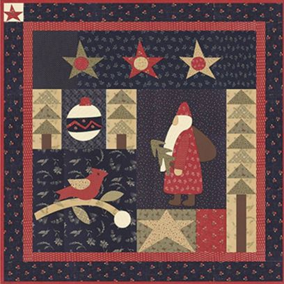 Pattern guida per Patchwork - Holly Jolly Christmas - 1