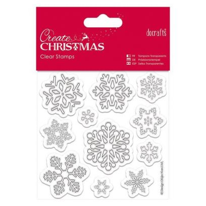 Docrafts - Timbri Natale – Snowflakes - 1