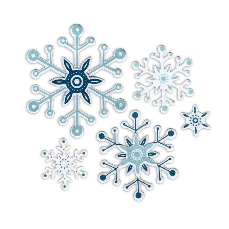 Fustella Fiocchi di Neve - Framelits Snowflakes 2 - 1