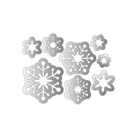 Fustella Fiocchi di Neve - Framelits Snowflakes 2 - 2
