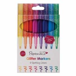 Colori Glitterati - Glitter Markers Papermania - 1