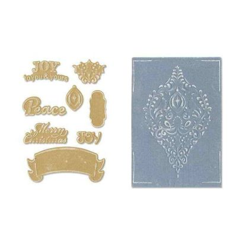 Fustella Ornamenti Natale - Framelits Ornament Set - 1