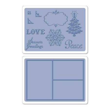 Fustella Natale - Framelits Collage Frames Set - 3