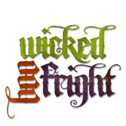 Fustella Parole Halloween - Thinlits Vintage Spirits - 1