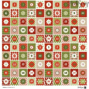"Carte Moda Scrap 12""x12"" – It's Christmas Time - 4"