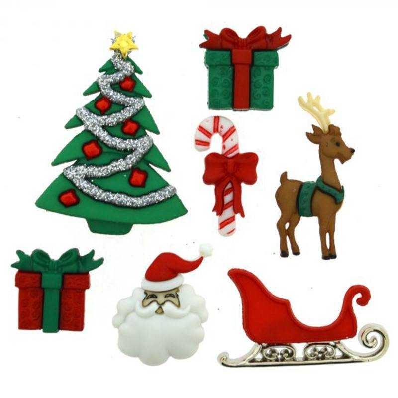 Bottoncini Decorativi - Dress It Up - Christmas Eve - 1