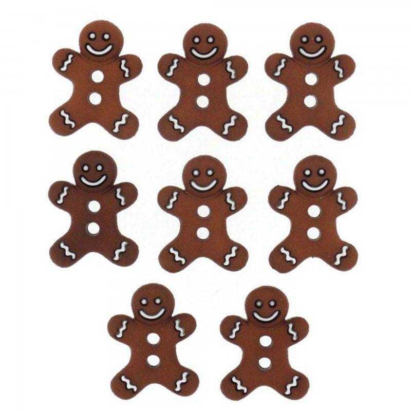Bottoncini Decorativi - Dress It Up - Iced Cookies - 1
