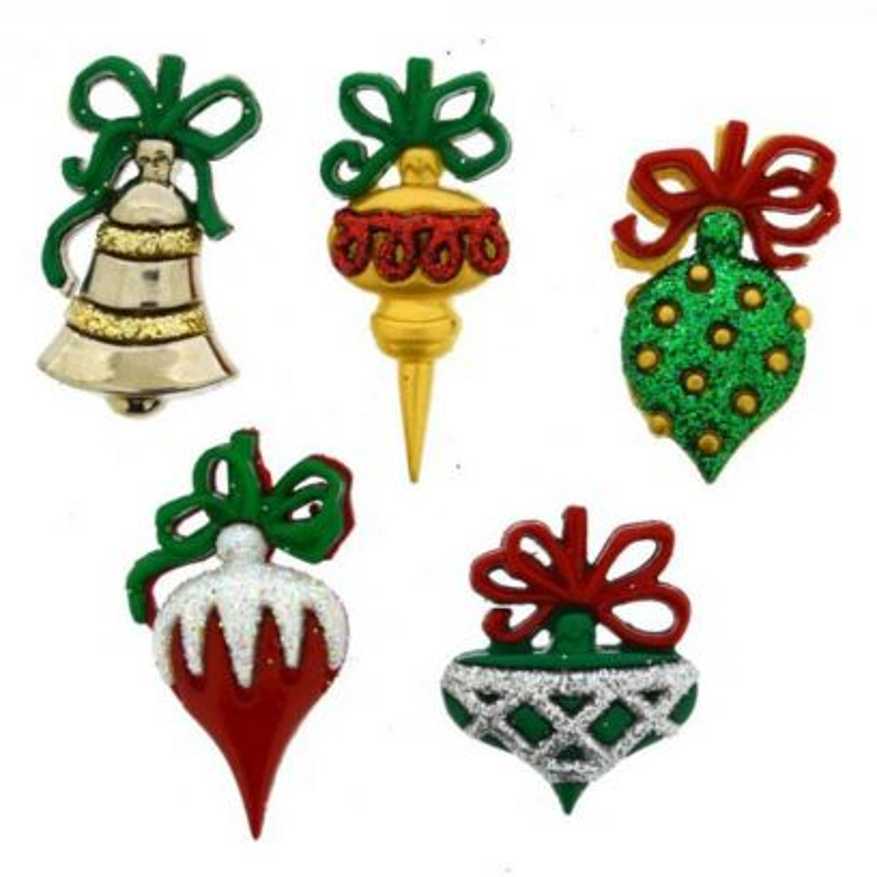 Bottoncini Decorativi - Dress It Up - Christmas Ornament - 1
