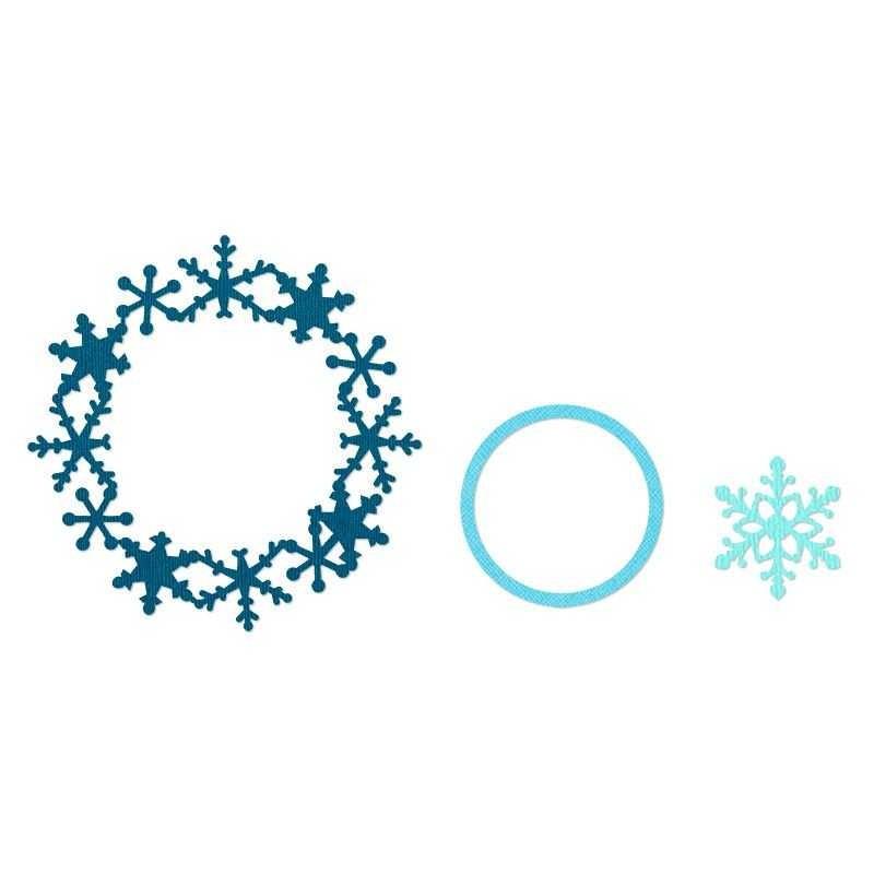 Fustella Fiocco di neve - Framelits Snowflakes 657906