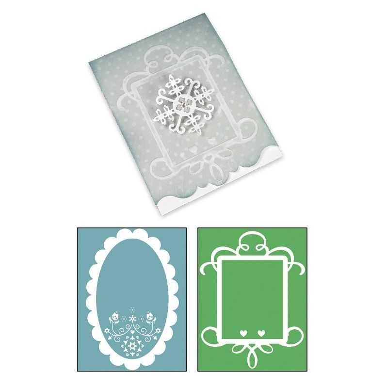 Fustella Biglietti Bigz Card Ornate -3