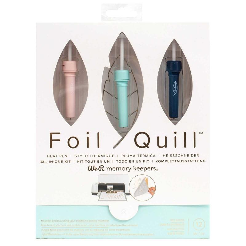Foil quill kit da 3 punte per doratura a caldo compatibile con la silhouette cameo